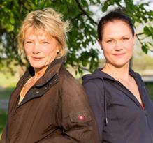Angelika Achoura und Manuela Meier